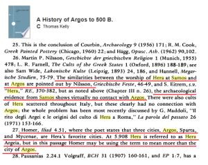 Samos Argos Hera