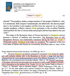 Angelov Slavs Romaioi Greeks
