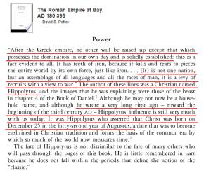 Hippolytus Roman Empire