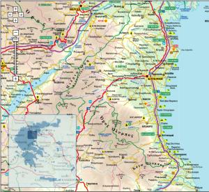 Pieria map