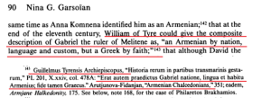 William of Tyre Greek by faith