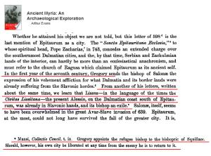 Lissus Slavs 600 AD