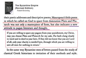 Mauropous Plato Plutarch