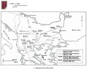 CMH Bulgaria map