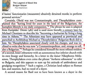 Theophylact-Bulgarization