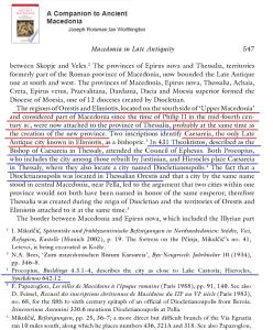 Thessalian Orestis Elimiotis