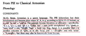 Armenian-satem