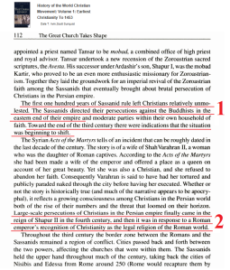 sassanids-christians