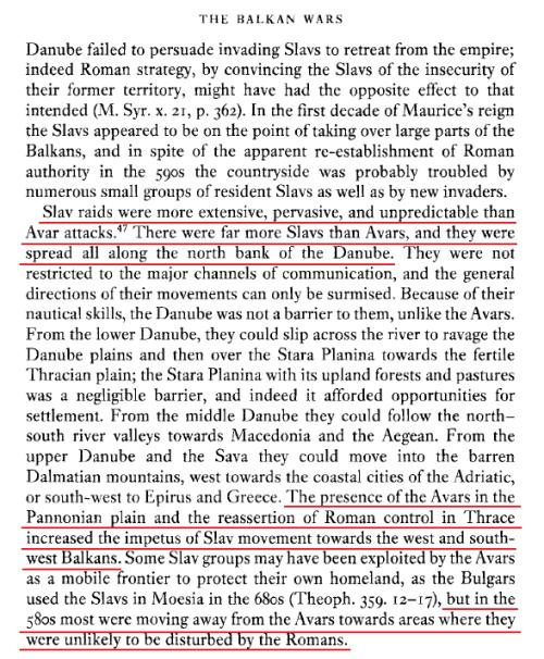 Slavs-invasions